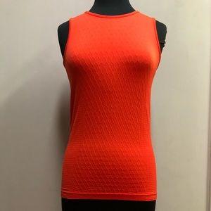 Athleta Orange Sleeveless Top. Size Small